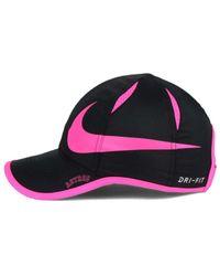 Nike | Black Featherlight Adjustable Cap | Lyst