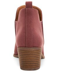 Style & Co. - Multicolor Myrrah Perforated Ankle Booties, Created For Macy's - Lyst