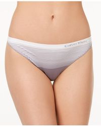 CALVIN KLEIN 205W39NYC - Multicolor Seamless Illusions Thong Qd3547 - Lyst