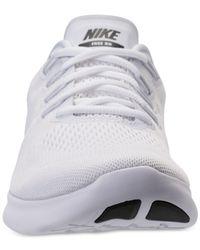 Nike - White Men's Free Run 2017 Running Sneakers From Finish Line for Men - Lyst