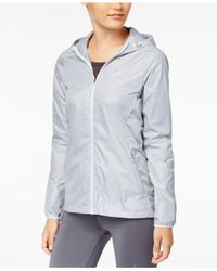 Nike - Gray Essential Hooded Running Jacket - Lyst