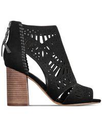 Ivanka Trump - Black Rachae Suede Ankle Booties - Lyst