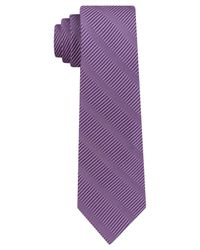 DKNY - Purple Sky Line Silk Slim Tie for Men - Lyst