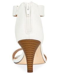 Style & Co. - White Paycee Two-piece Dress Sandals - Lyst