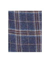 Ben Sherman - Men's Slim-fit Blue/red Plaid Sport Coat for Men - Lyst