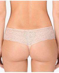 Natori - Multicolor Lace-waist Thong 771152 - Lyst