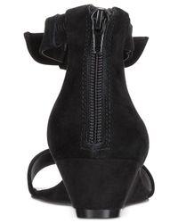 Alfani - Black Tamirr Step 'n Flex Wedge Sandals - Lyst