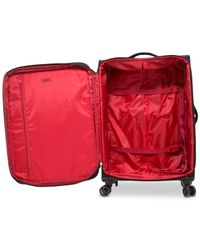 """DKNY - Purple Allure 25"""" Quilted Softside Spinner Suitcase - Lyst"""