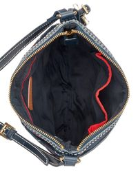 Tommy Hilfiger - Blue Julia Triple Quilted Nylon Crossbody, Created For Macy's - Lyst