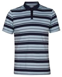 Hurley - Blue Sonny Striped Polo for Men - Lyst