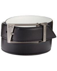 Under Armour - Black Reversible Faux-leather Golf Belt for Men - Lyst