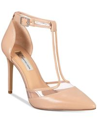 INC International Concepts - Natural Kaeley T-strap Pumps, Created For Macy's - Lyst