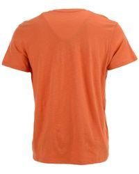 47 Brand - Orange Denver Broncos Retro Logo Scrum T-shirt for Men - Lyst