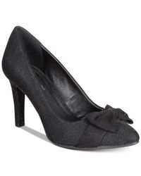 Rialto | Black Carol Detail Dress Pumps | Lyst