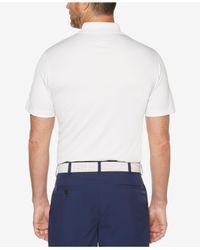 PGA TOUR - White Diamond-print Polo for Men - Lyst
