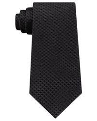 Michael Kors   Black Men's Unsolid Honeycomb Silk Tie for Men   Lyst