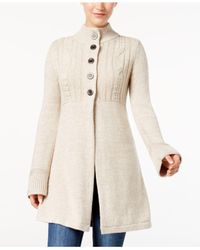 Style & Co. | Natural Fit & Flare Cardigan Jacket | Lyst