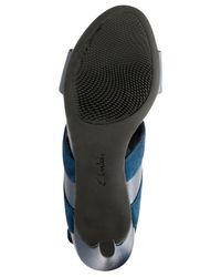 Clarks - Blue Laureti Joy Dress Sandals - Lyst