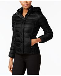 32 Degrees - Black Packable Down Puffer Coat - Lyst