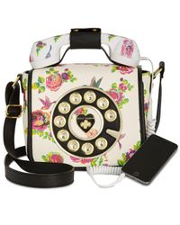 Betsey Johnson | Multicolor Small Phone Crossbody | Lyst