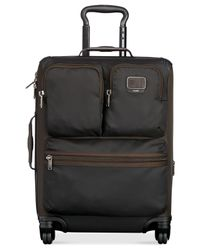 "Tumi | Black Alpha Bravo Kirtland Continental 22"" Carry-on Expandable Suitcase 