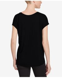Polo Ralph Lauren - Black Pink Pony Jersey Graphic T-shirt - Lyst