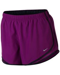 Nike - Purple Plus Size Shorts, Dri-fit Tempo Track - Lyst