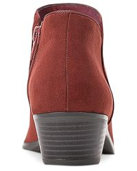 Style & Co. Red Wileyy Ankle Booties, Created For Macy's