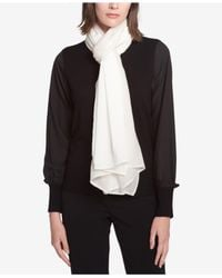 DKNY - Multicolor Mixed Texture Knit Wrap - Lyst