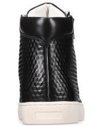 Kenneth Cole Reaction - Black Men's Fashion High-top Sneakers for Men - Lyst