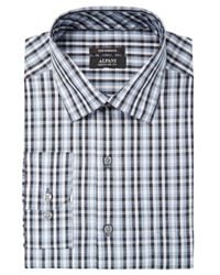 Alfani - Gray Men's Classic/regular Fit Performance Stretch Small Pixel Print Shirt, Created For Macy's for Men - Lyst