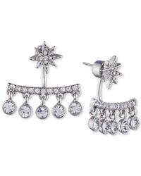 Ivanka Trump - Metallic Crystal Chandelier Earring Jackets - Lyst