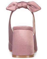 Kensie - Pink Annamaria Block-heel Pumps - Lyst