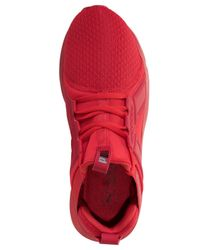 PUMA - Red Men's Enzo Wide Casual Sneakers From Finish Line for Men - Lyst