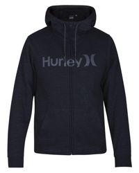 Hurley - Black Men's Bayside Fleece Hoodie for Men - Lyst