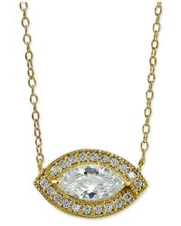 Giani Bernini | Metallic Sterling Silver Cubic Zirconia Pendant Necklace | Lyst
