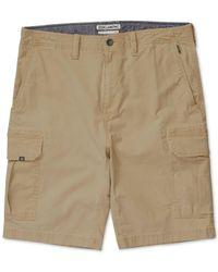 Billabong - Natural Men's Scheme Classic-fit Cargo Shorts for Men - Lyst