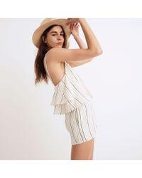 Tavik - Multicolor ® Faithful Cover-up Romper In Horizon Stripe - Lyst