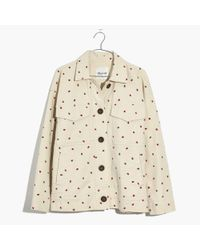Madewell - Multicolor Fresh Strawberries Jacket - Lyst