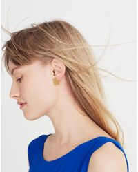 Madewell - Metallic Star Earrings - Lyst