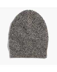 Madewell - Multicolor Slouch Beanie - Lyst