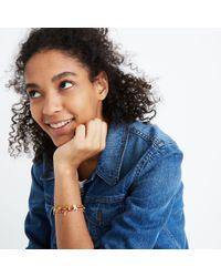 Madewell - Multicolor Adjustable Beaded Bracelet - Lyst