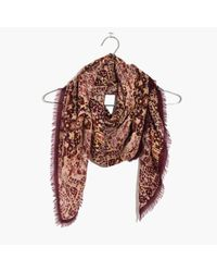 Madewell - Multicolor Square Kaleidoscope Scarf - Lyst