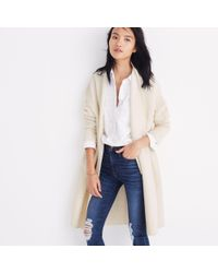 Madewell - Natural Fulton Sweater-coat - Lyst