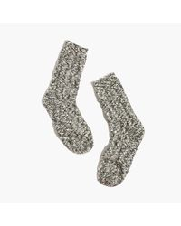 Madewell | Multicolor Cableknit Trouser Socks | Lyst