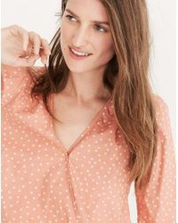 Madewell - Multicolor Wrap Shirt In Star Scatter - Lyst