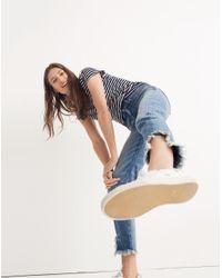 Madewell - Blue Rivet & Thread Retro Straight Jeans - Lyst