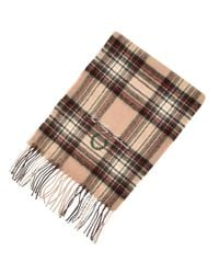 Fred Perry - Camel Stewart Tartan Scarf Brown for Men - Lyst
