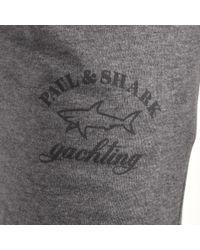 Paul & Shark - Gray Paul And Shark Slim Fit Jogging Bottoms Grey for Men - Lyst