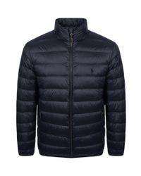 Ralph Lauren - Blue City Down Jacket Navy for Men - Lyst